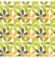 seamless floral pattern with flowers and vector image vector image