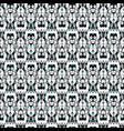 seamless floral pattern with tulips poppies and vector image vector image