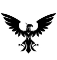 stylized eagle vector image vector image