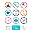 Tailor sewing and embroidery icons Scissors vector image vector image
