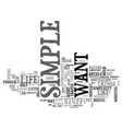what s simple text word cloud concept vector image vector image