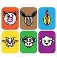 animal farm vector image