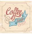 Coffeeshop vector image vector image