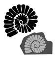 design with prehistoric bones of animals vector image