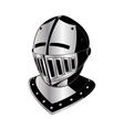 gladiator helmet vector image vector image