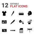 template icons vector image vector image