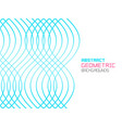 abstract geometric background with waves vector image vector image