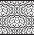 abstract minimalistic floral seamless pattern vector image vector image