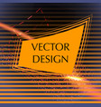 business frame design vector image