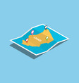 chad africa explore maps with isometric style and vector image vector image
