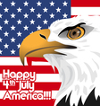 Happy fourth of july America independence day vector image vector image