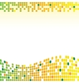 mosaic backgrounds vector image vector image