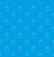 slapstick pattern seamless blue vector image vector image