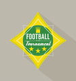 Soccer or Football Tournament Badge vector image vector image