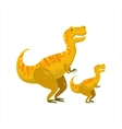 Tirannosaurus Rex Dinosaur Prehistoric Monster vector image vector image