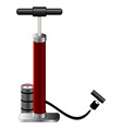 air pump object vector image vector image
