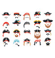 carnival pirate mask decor photo booth props