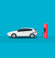 creative of electric charging vector image