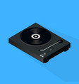 isometric turntable 3d vector image