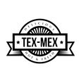 Mexican Cuisine vintage sign - Tex-Mex vector image vector image