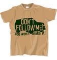 off-road t-shirt design vector image vector image