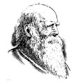 william cullen bryant vintage vector image vector image