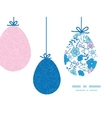 blue and pink kimono blossoms hanging vector image vector image