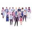professional people team business persons group vector image vector image