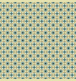 Seamless pattern with circles squares and dots vector image