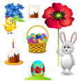 easter collections vector image vector image