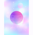 fluid shapes background with liquid dynamic vector image vector image