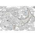 hammerhead with high details vector image vector image