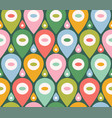 retro funny pattern for holidays vector image vector image