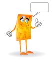 talking credit card vector image vector image