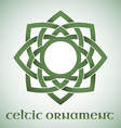 Celtic ornament with gradients vector image vector image