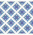 damask pattern seamless vector image