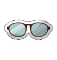 eye glasses style icon vector image vector image