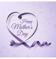 Happy Mothers Day greeting card template vector image
