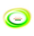 Round modern background vector image