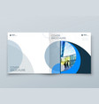 square cover with minimal geometric design modern vector image