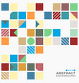 abstract of colorful with copy space pattern vector image vector image