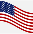 flag of usa image of american flag vector image vector image