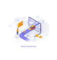 isometric concept vector image vector image