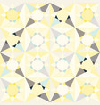kaleidoscope glass mosaic tiles seamless vector image vector image