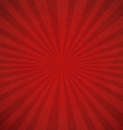 Red Sunburst Background vector image vector image