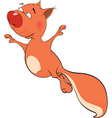 The squirrel cartoon vector image
