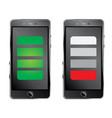 modern black smartphone vector image