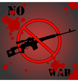 No war vector image vector image