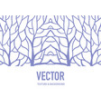 pattern background root vector image vector image