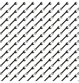 Seamless pattern background of adjustable wrench vector image vector image